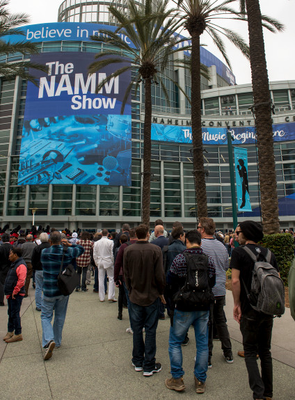 NAMM: Anaheim music industry convention broke attendance records