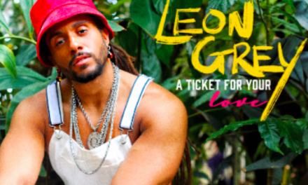 Leon Grey Reveals Relaxed Tune 'Ticket For Your Love'