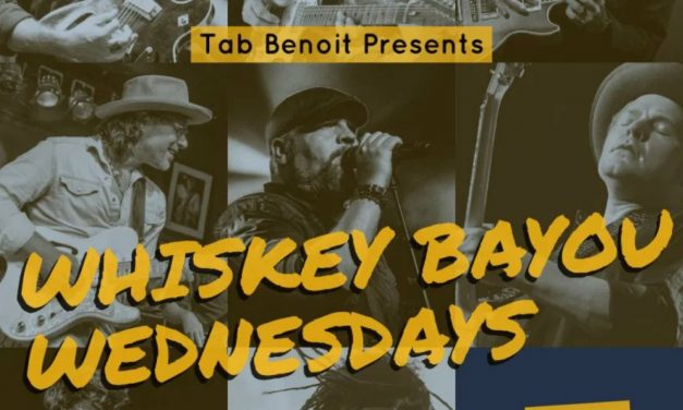 Tab Benoit Presents 'Whiskey Bayou Wednesdays' Live Steaming Concerts