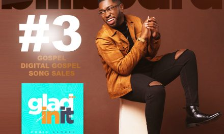 "Rejoice And Be ""Glad In It:"" Chris Bender Debuts At #3 On Billboard Gospel Singles Sales Chart"