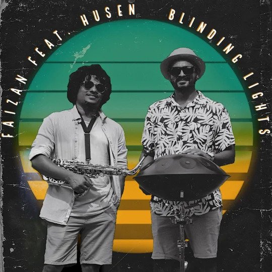"""Faizan and Husen take us to the Caribbean in his version of """"Blinding Lights"""""""